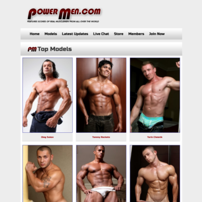 power men bodybuilders naked muscle guys